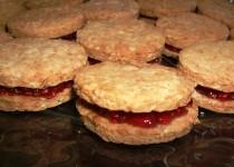 Biscuits à la framboise
