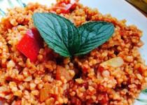 Boulghour à la tomate