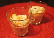 Verrines de surimi à la sauce cocktail